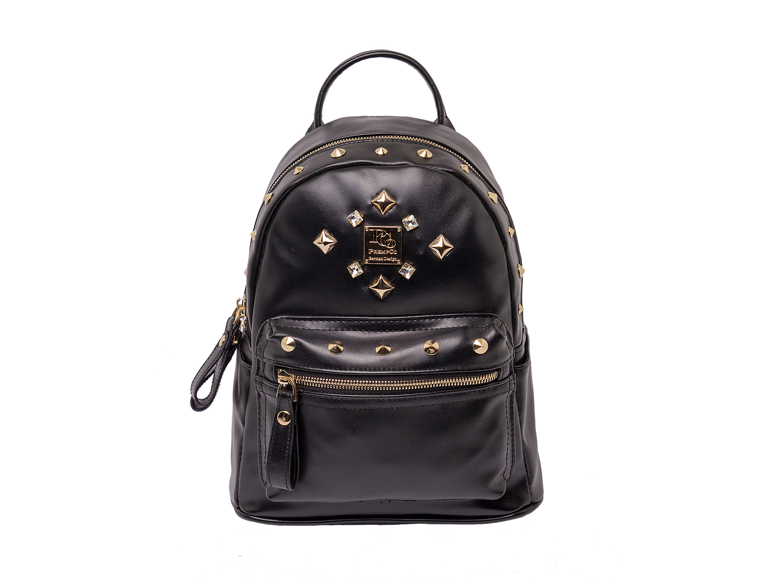 PCo mini damen rucksack schwarz Designer Rucksack Luxus
