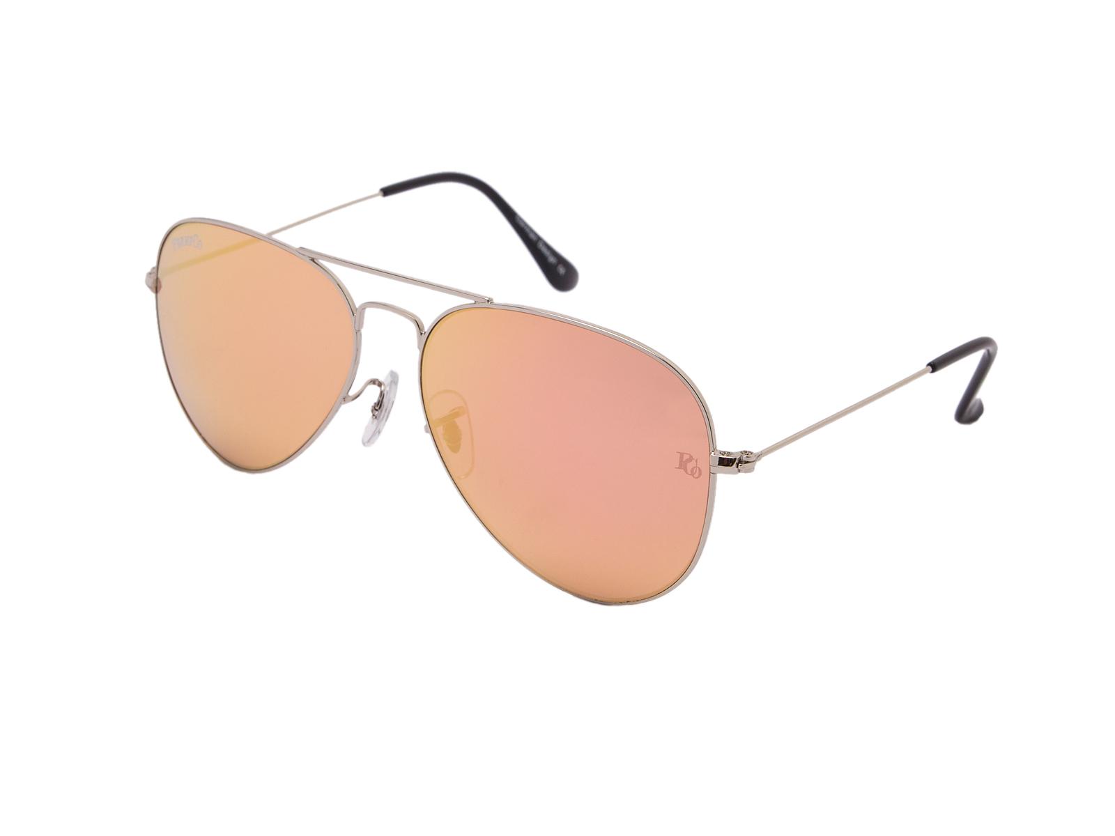 prempco aviator Damen sonnenbrille silber mirror silber gestell (10)
