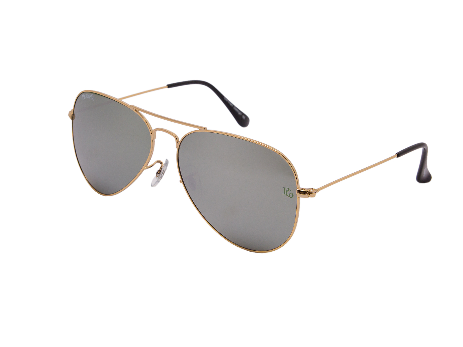 prempco aviator Damen sonnenbrille silber mirror silber gestell (12)