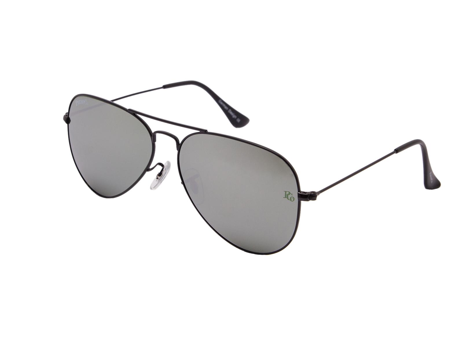 prempco aviator Damen sonnenbrille silber mirror silber gestell (15)