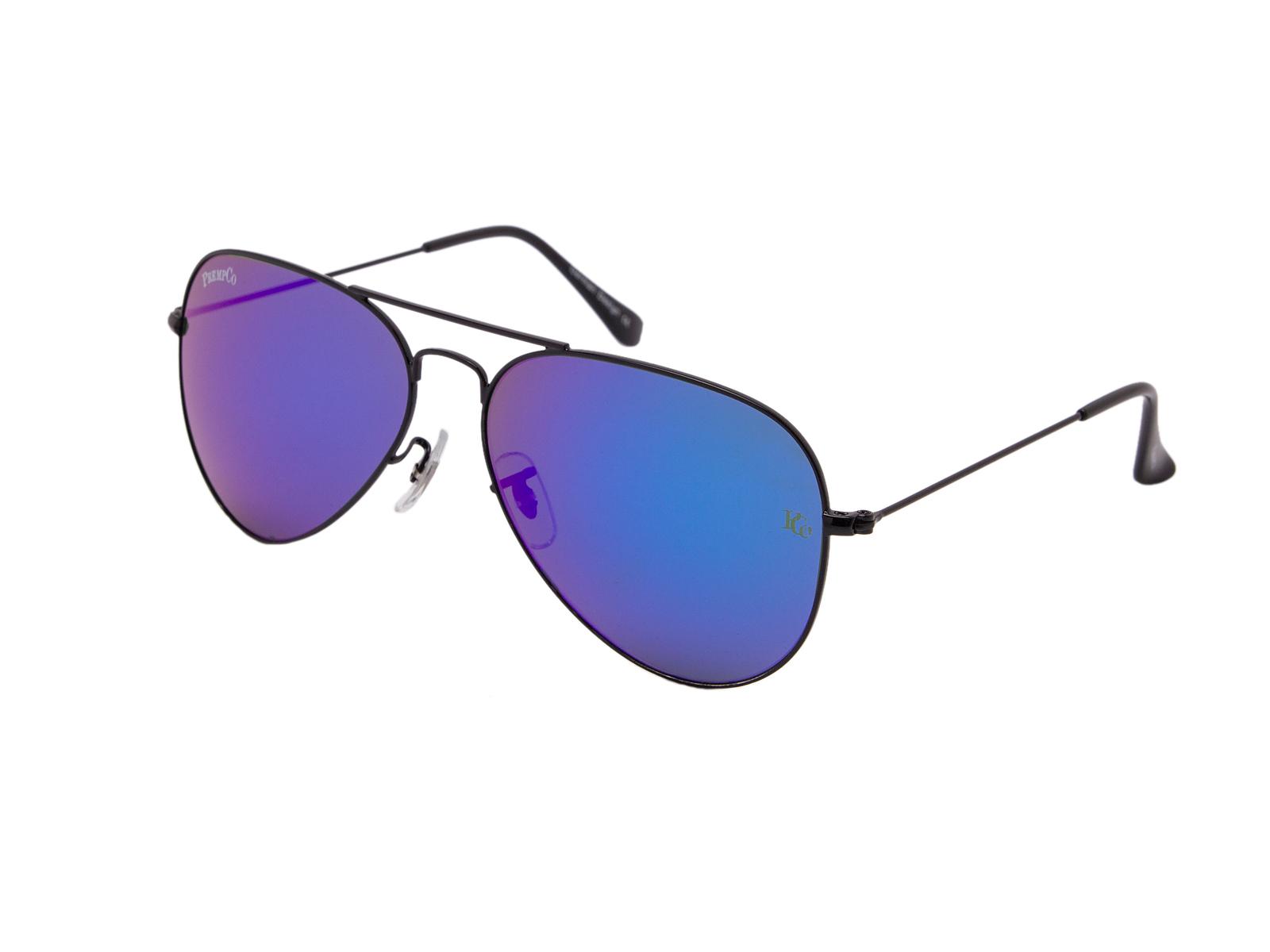 prempco aviator Damen sonnenbrille silber mirror silber gestell (3)