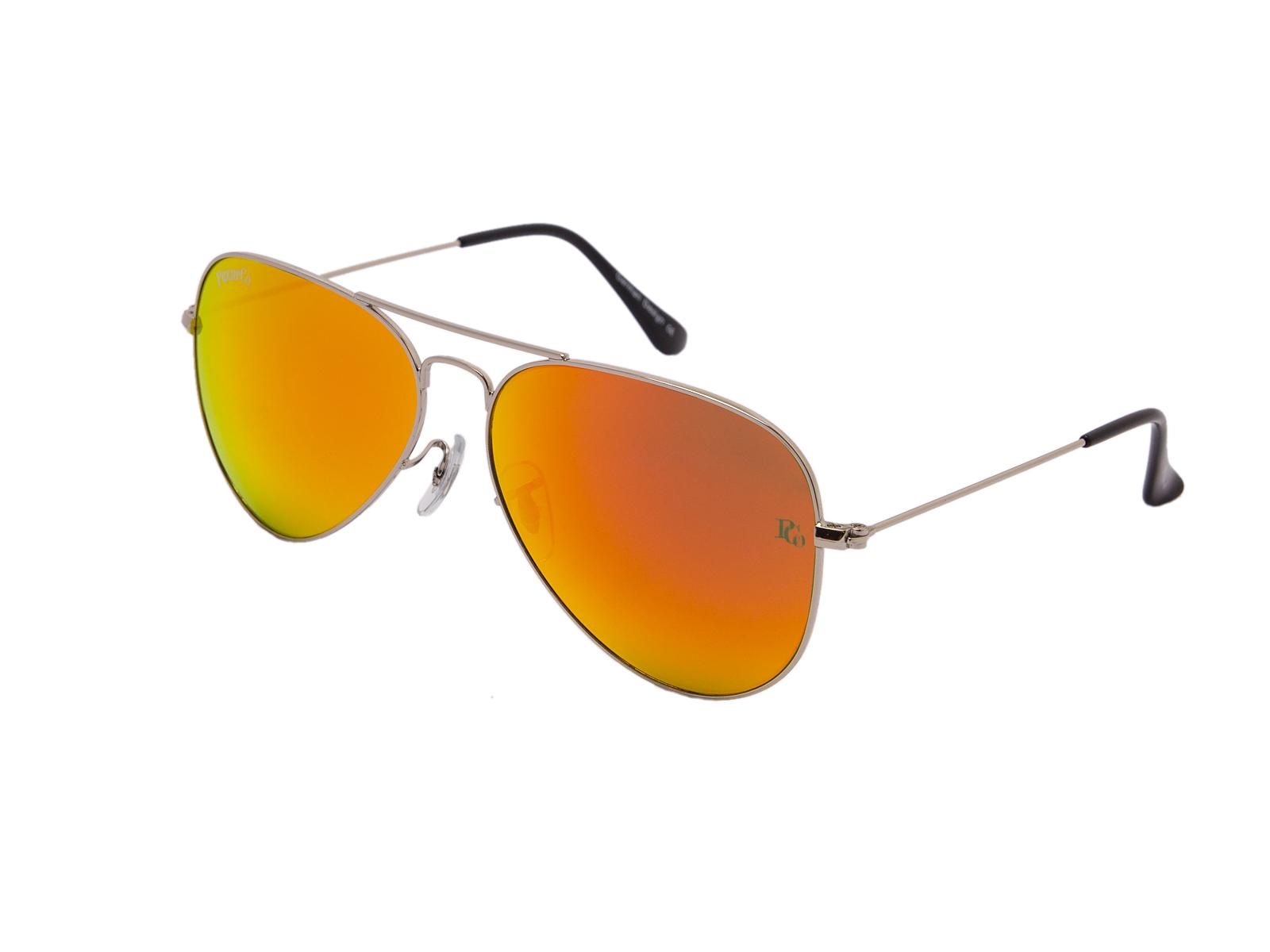 prempco aviator Damen sonnenbrille silber mirror silber gestell (7)