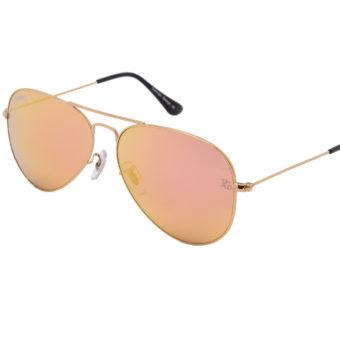 prempco aviator Damen sonnenbrille silber mirror silber gestell (8)