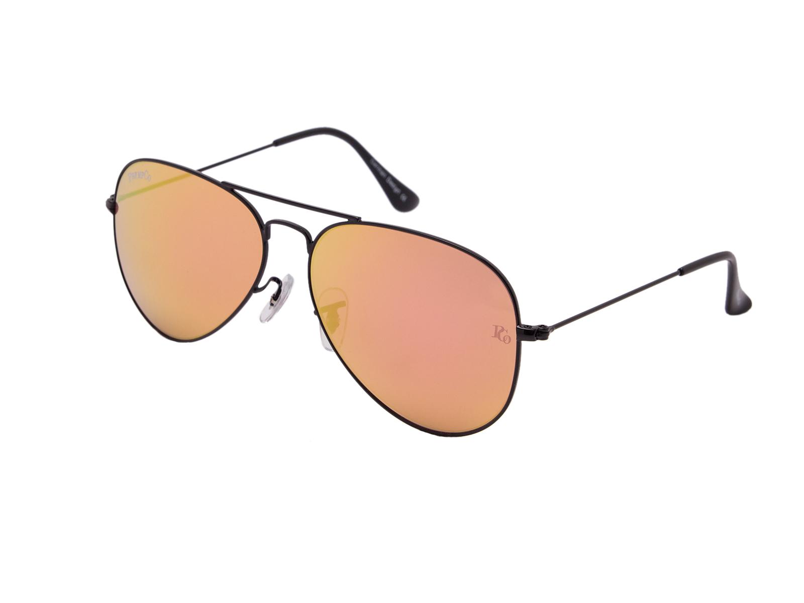 prempco aviator Damen sonnenbrille silber mirror silber gestell (9)